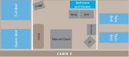 Cabin 9 Layout
